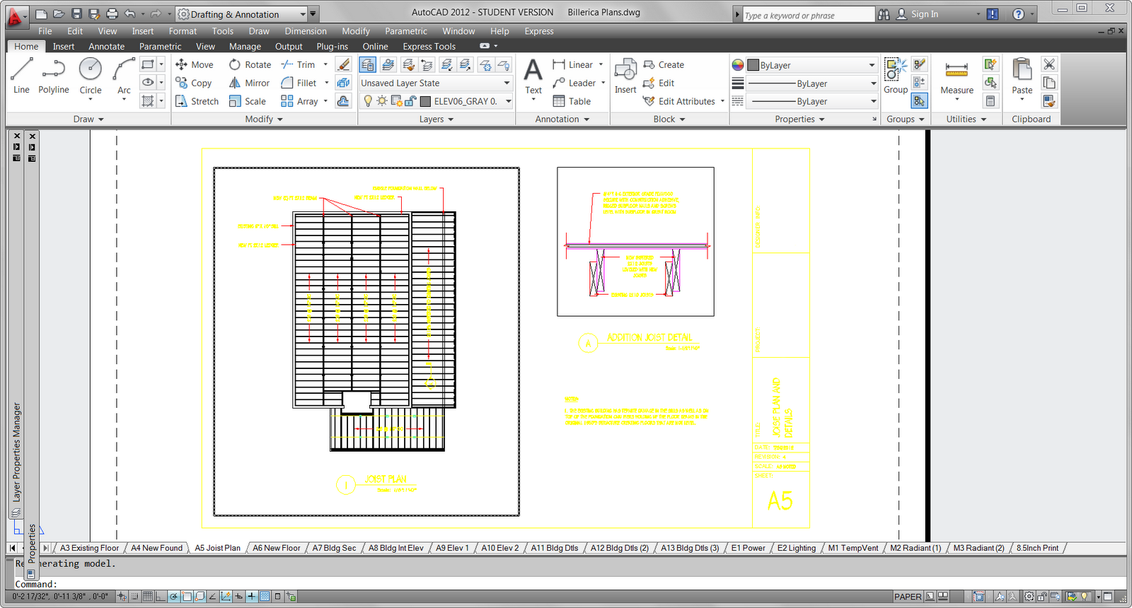 The architectural student autocad setting up paperspace with the architectural student autocad setting up paperspace with plot styles and lineweights baditri Images