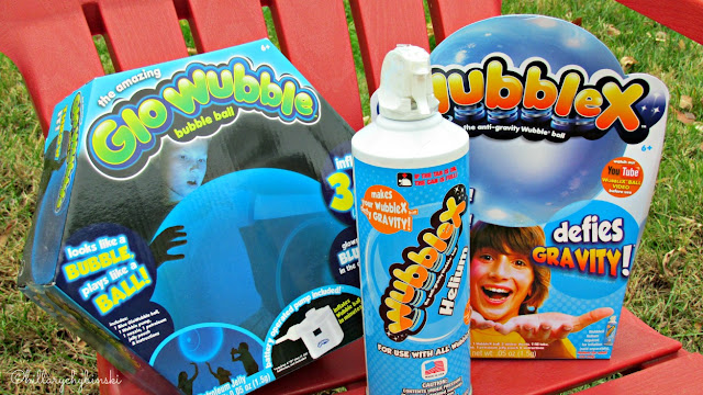 Wubble X and Glo Wubble