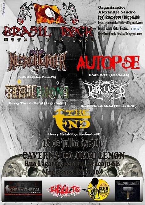 18-07-2015 - BRASIL ROCK METAL FESTIVAL -  Aracaju - SE