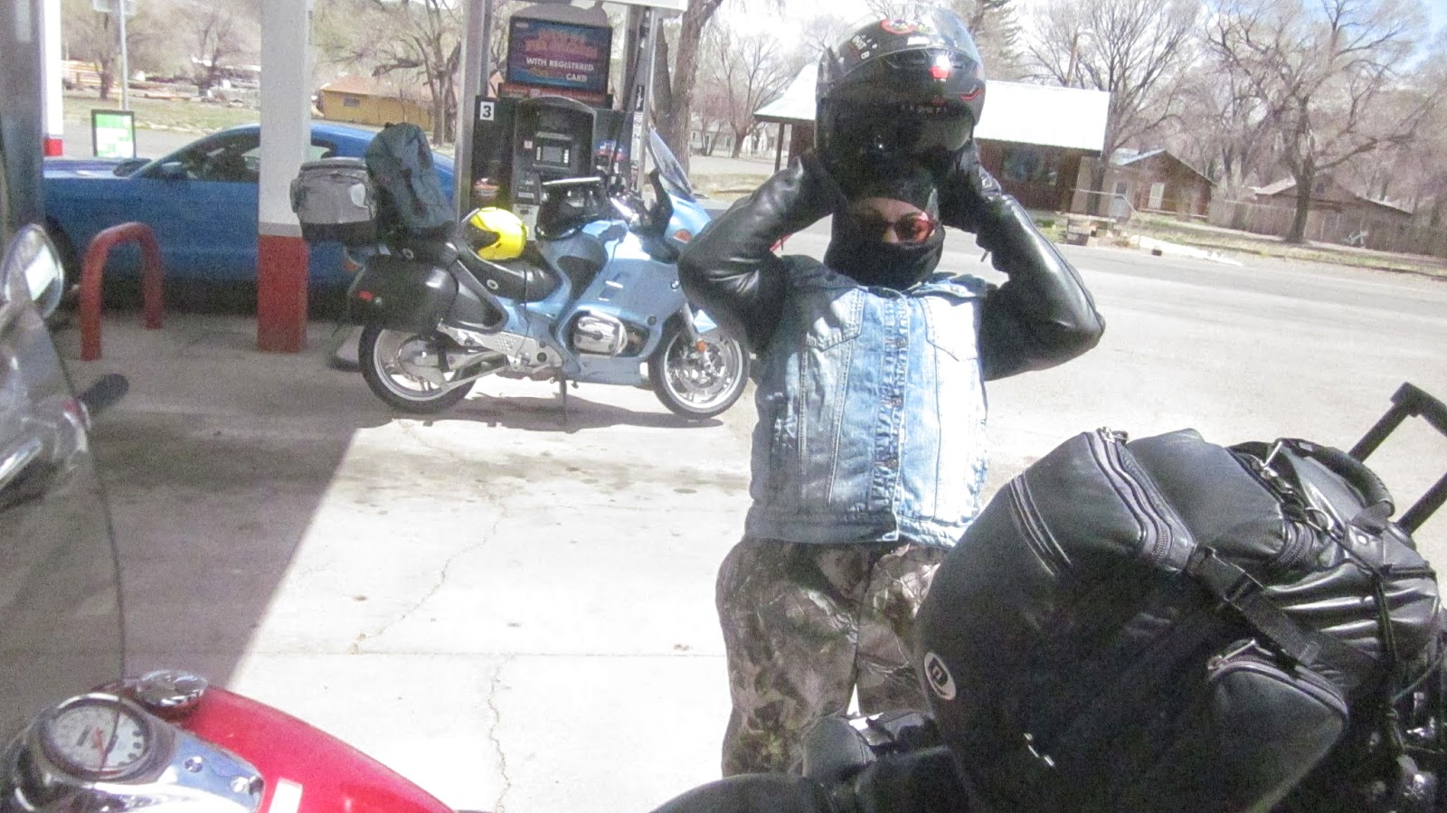 saguache colorado biker