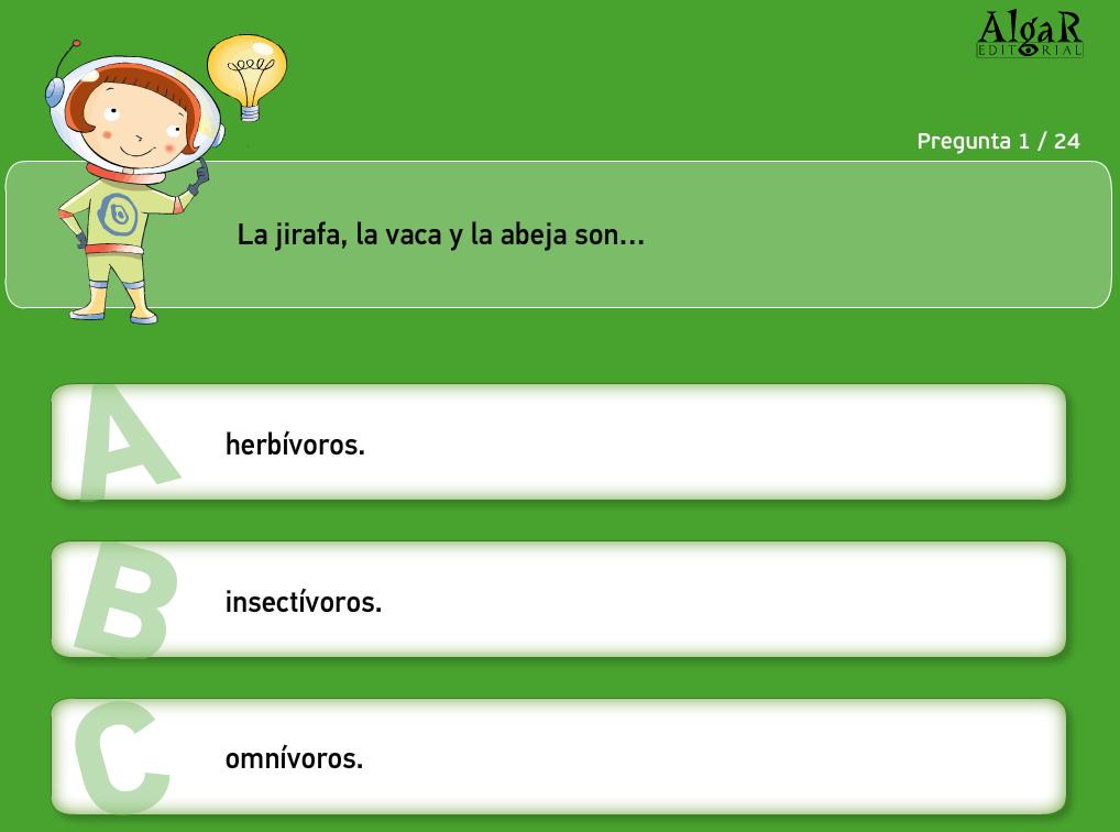 http://www.primerodecarlos.com/TERCERO_PRIMARIA/octubre/Unidad3/actividades/cono/animales/repaso_animales.swf