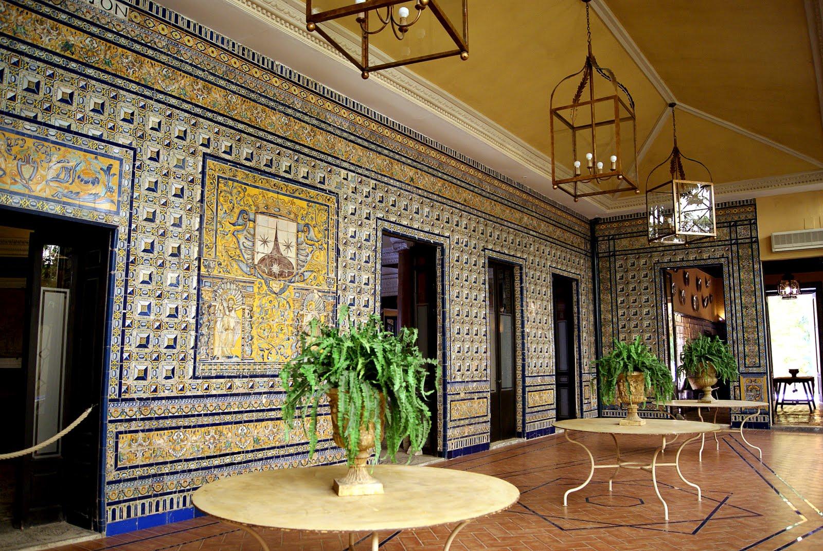 Leyendas de sevilla palacio de la condesa de lebrija ii for Tresillos sevilla