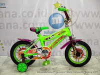 Sepeda Anak United Power Junior 12 Inci Green