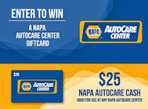 $25 NAPA Gift Card Closing 12/3