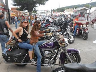 Women Sturgis Motorcycle Rally 2014
