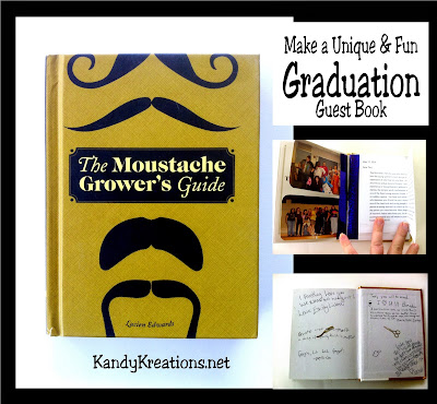 Throw your graduate a fun graduation party with a themed guest book that's as unique and fun as they are.  By adding sentiments from guests in attendance and those who live afar, this book will be a great memory for years to come.