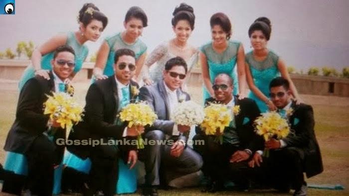 Nehara And Menaka Wedding 2014
