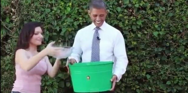اوباما, اوباما يتحدى بشار الاسد, بشار الاسد, تحدي الماء المثلج, مقاطع فيديو,