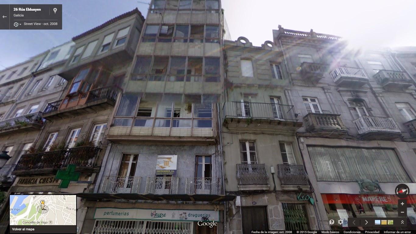El vigo oculto edificios desaparecidos 6 vigo for Casa planta vigo