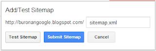 Submit Sitemap.xml Blog ke Google Webmaster Tools
