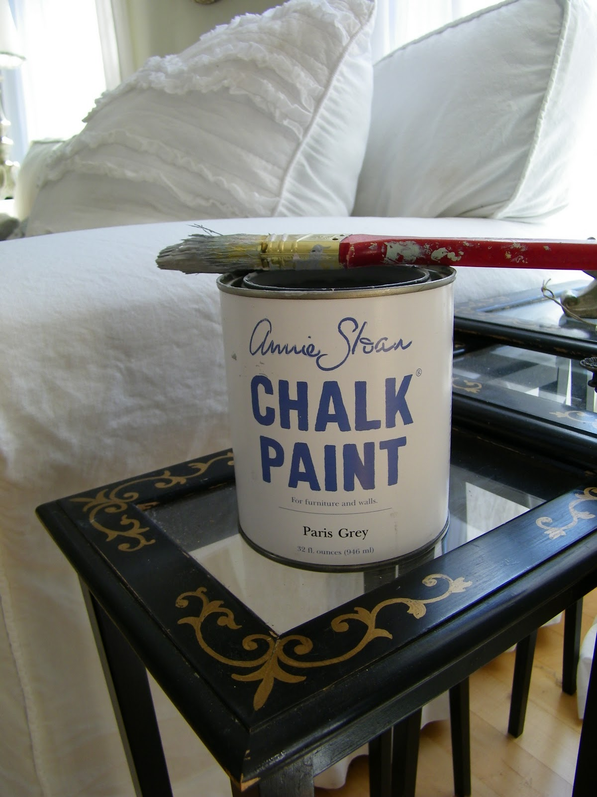 Maison Decor Updates on Man Cave and Chalk Paint