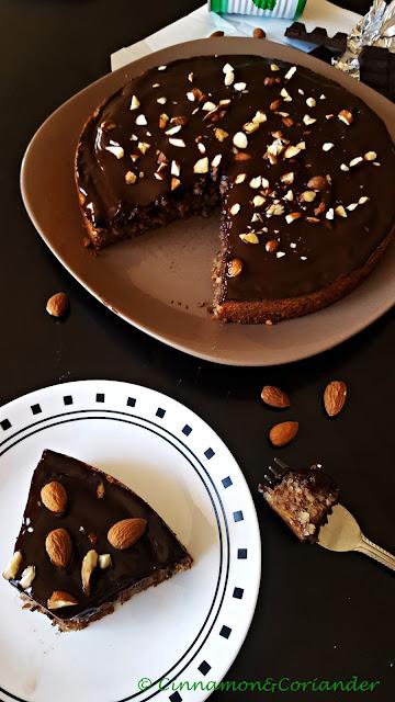 Schokoladen Maronen Kuchen