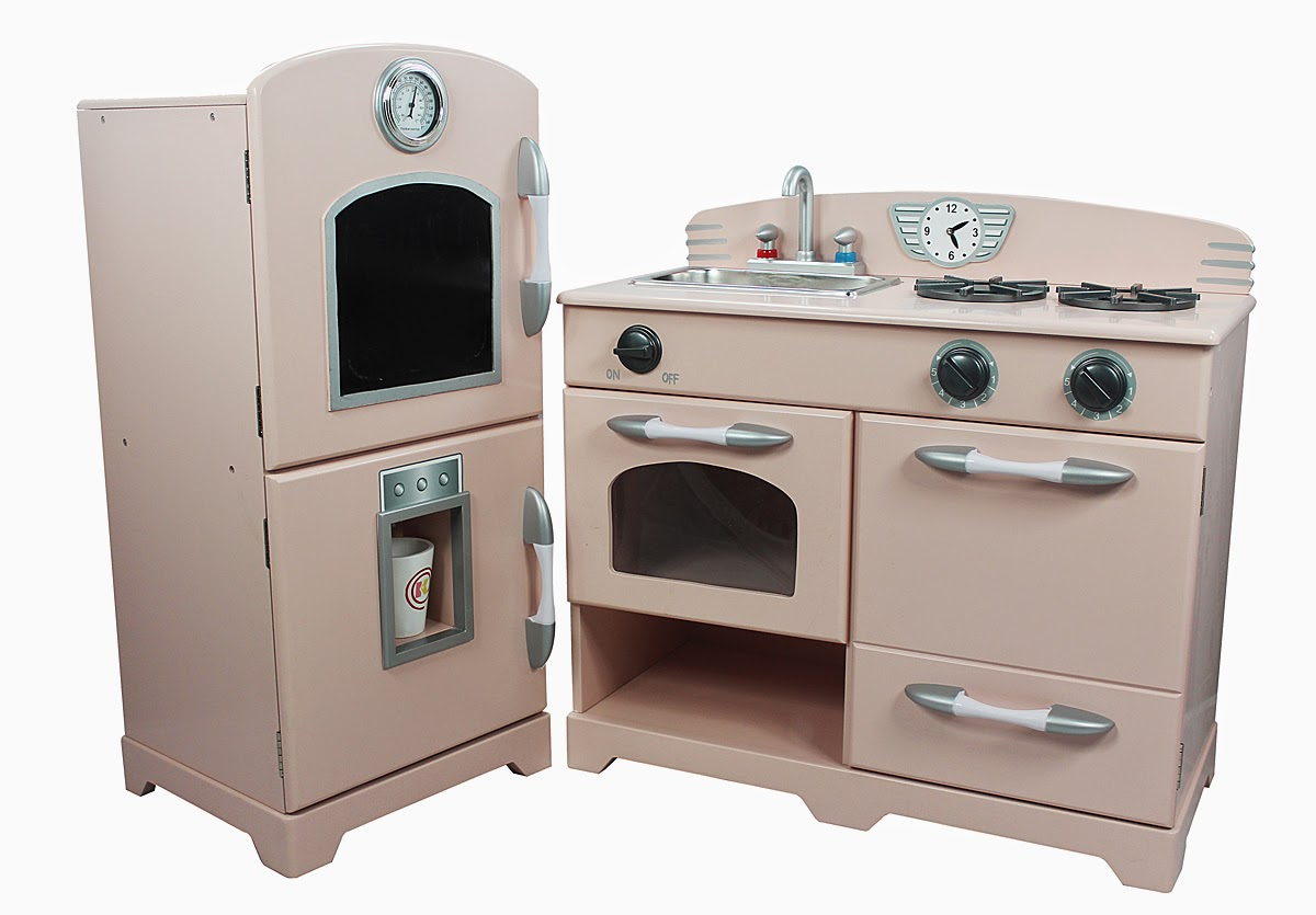 Teamson Rose Cottage Childrens Play Kitchen / Toy Kitchen