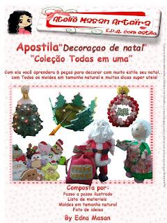 apostila decoração de natal