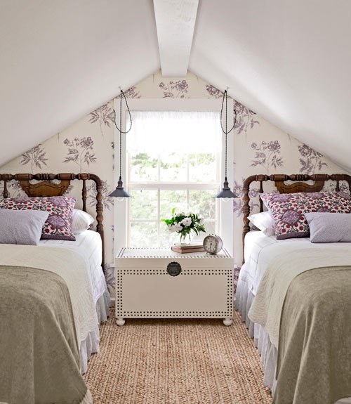 French style bedroom home decorating ideas for Bungalow bedroom ideas