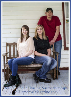 Autumn Blair, stepmom Pam and dad J from Chasing Nashville