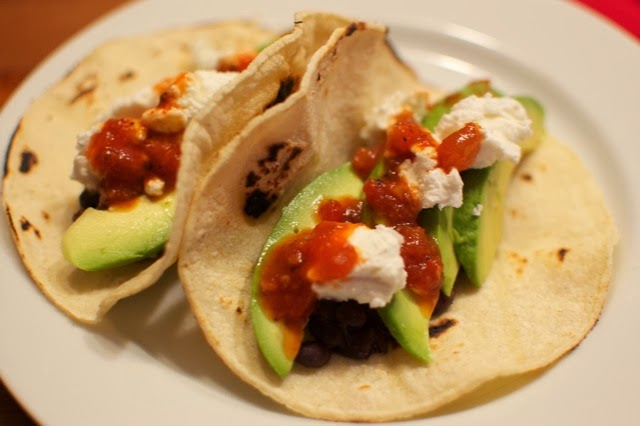 Black Bean And Cheese Tacos Recipes — Dishmaps
