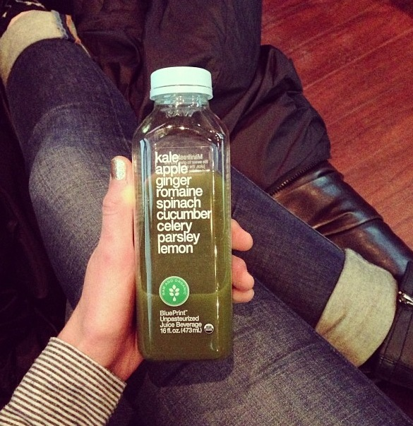Realfoodology why i juice my favorite juice recipes here i am drinking my juice i got this morning at whole foods cucumber kale celery parsley cilantro apple malvernweather Image collections