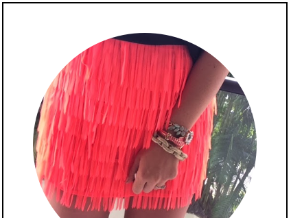 More Tropical Neon Fringe Awesomeness