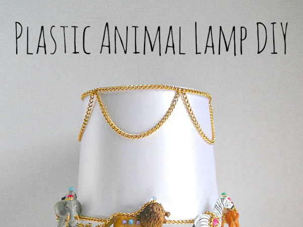 Plastic Animal Lamp DIY