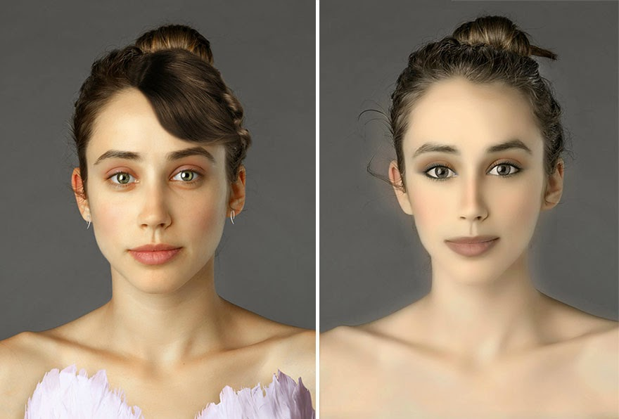 BANGLADESH - Woman Had Her Face Photoshopped In More Than 25 Countries To Compare Their Beauty Standards