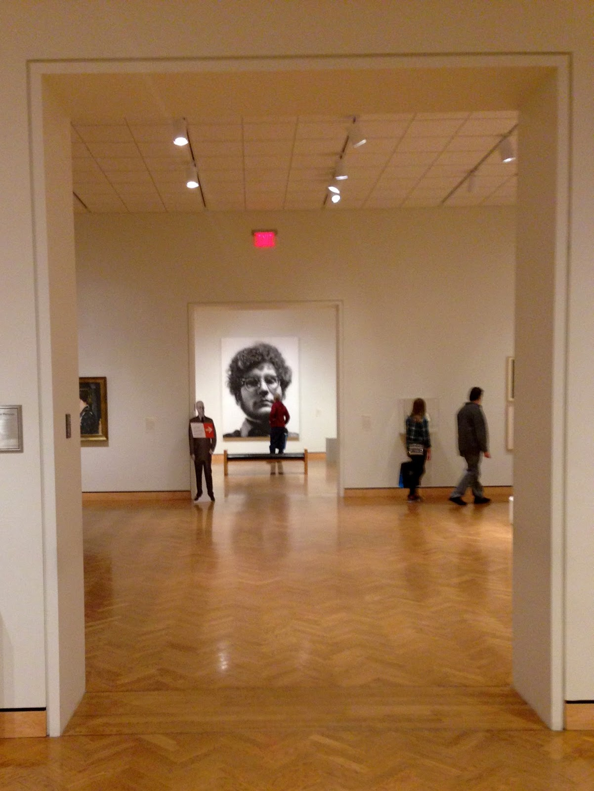 "Minneapolis Institute of Art- ""Frank"" by Chuck Close"