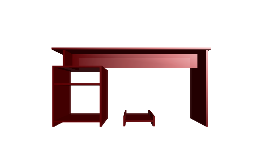 Dise o de muebles madera construir mesa para computadora for Diseno de mesa de computadora