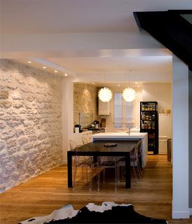 What a unperfect wonderful world i comme interieurs - Mur de pierre salon ...