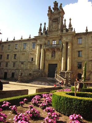 Church of San Martín Pinario in Santiago de Compostela