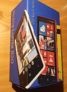 Windows Phone 8 Nokia Lumia 820 análisis
