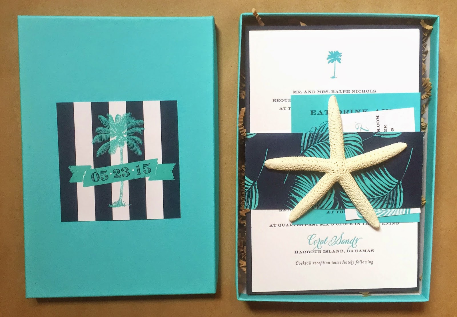 Island Wedding Invitation