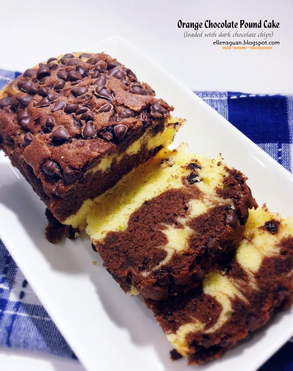 Cuisine paradise singapore food blog recipes reviews and travel orange chocolate pound cake forumfinder Choice Image