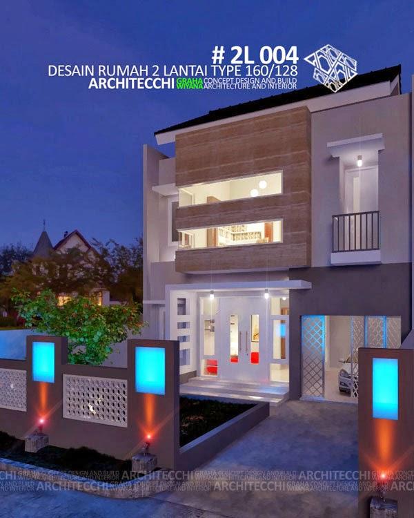 Desain Rumah Type 160