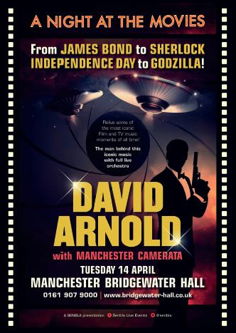 David Arnold, Manchester, 14 April 2015