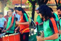 Clínica de percusión con Cafundo en Suipacha