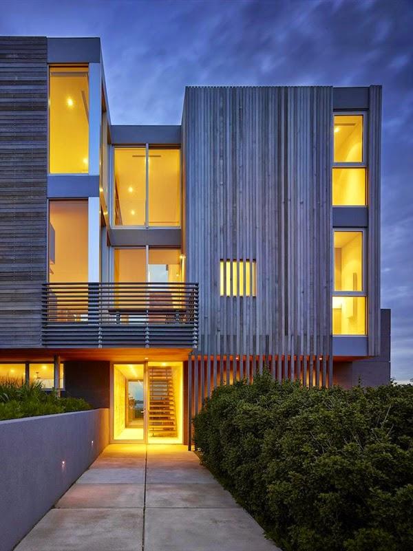 Casas minimalistas y modernas accesos de viviendas for Viviendas minimalistas