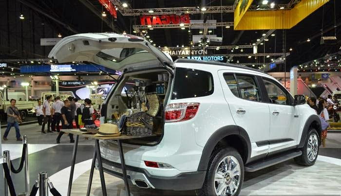 Di Thailand, All-New Chevrolet Traiblazer SVP 2015 Resmi Dirilis