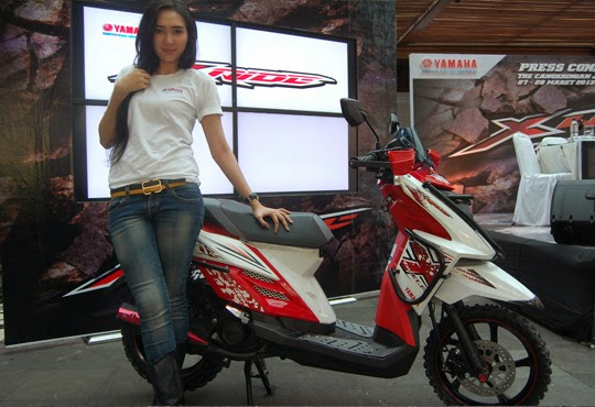 spg modifikasi yamaha x ride