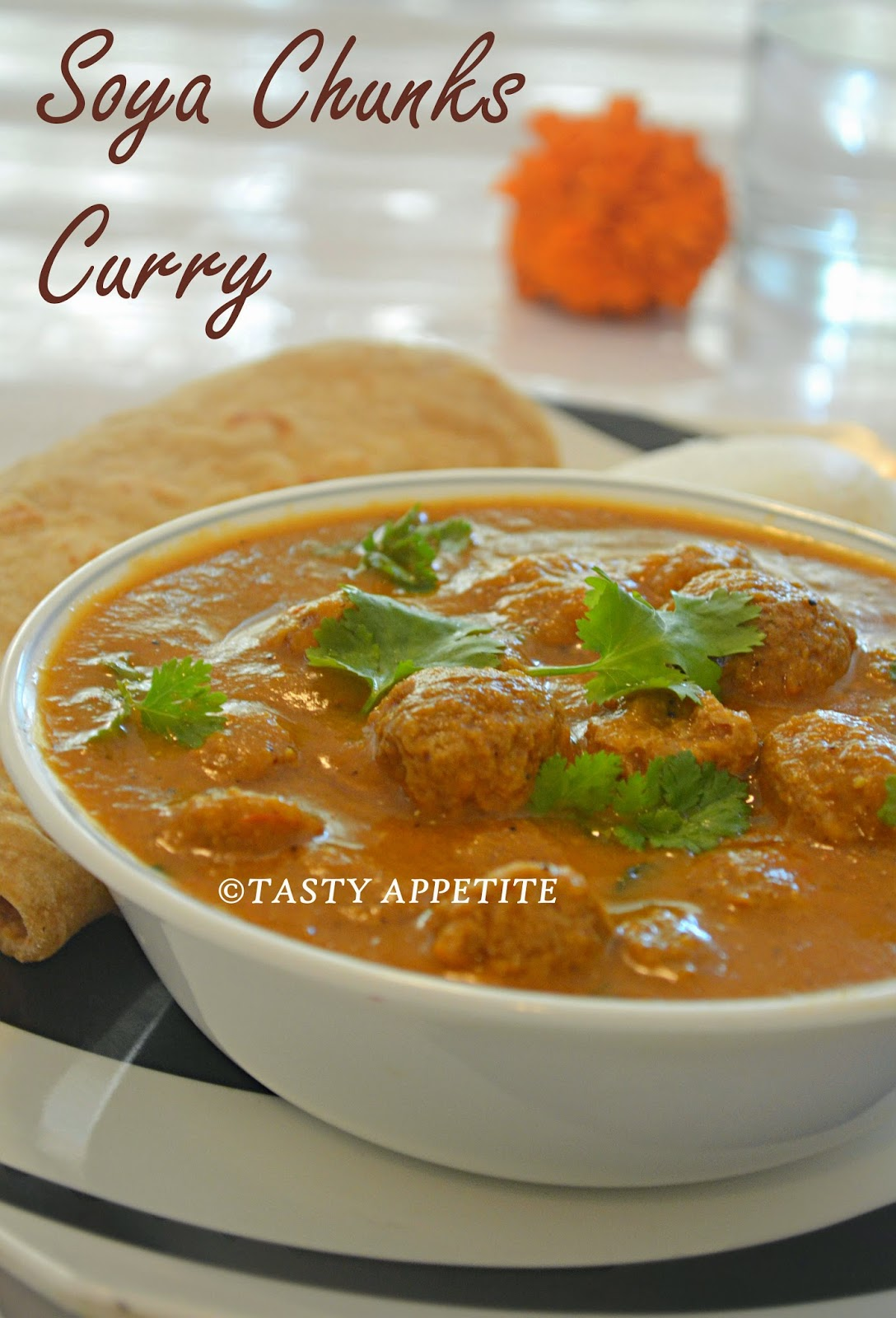 Soya chunks gravy meal maker curry soya chunks recipes forumfinder Choice Image