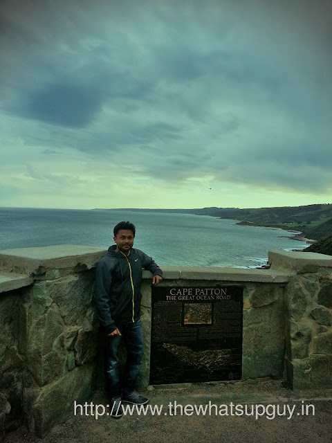 Me in Great Ocean Road