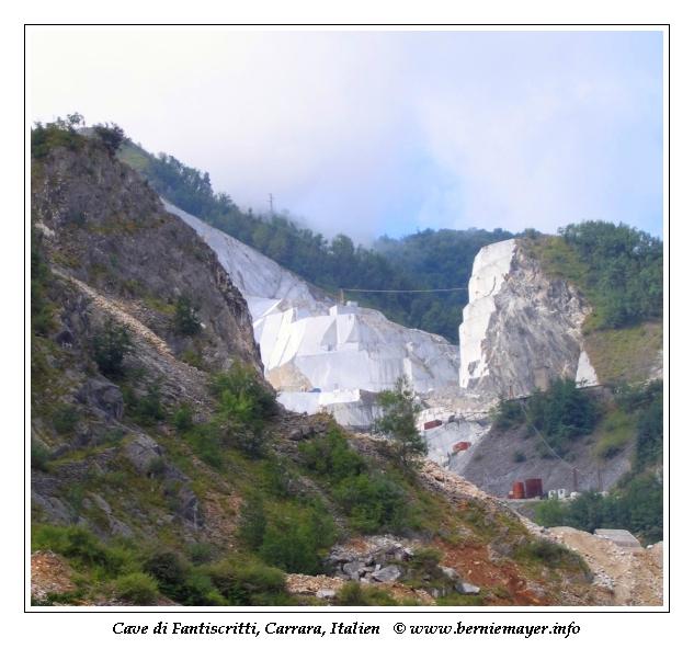 Carrara Steinbrüche
