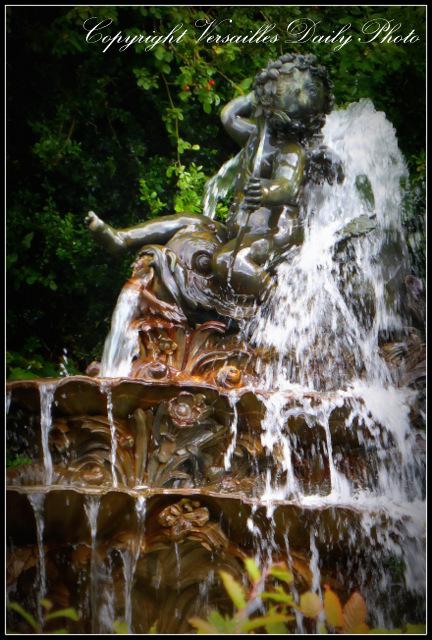 Grand Trianon Versailles fountain