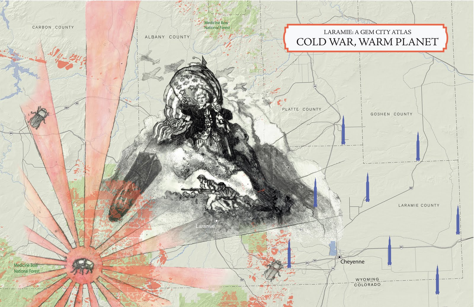these maps ponder the effects of global warming and cold war the costs of healthcare the uses of guns the history of violence and traces of the east in