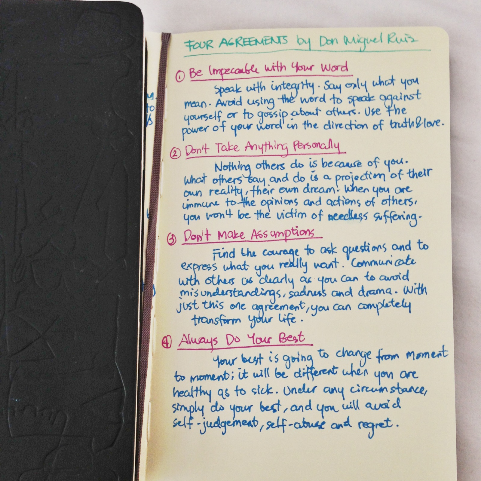 Book Summary The Four Agreements Term Paper Writing Service