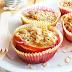 Gebackene Pfirsiche mit Haferflocken