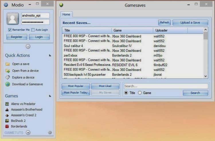 تحميل برنامج Modio للتحكم في جهاز اكس بوكس علي الكمبيوتر
