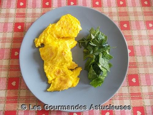 Comment faire une omelette aux oeufs de canes ?