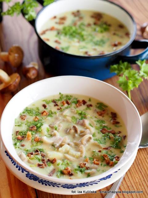 zupa maślakowa , maślaki zwyczajne , obiad , zupa ziemniaczana z grzybami , ziemniaki , podlasie , po grzybobraniu ,  kuchnia domowa , domowe jedzenie , dary lasu , prostu z lasu ,