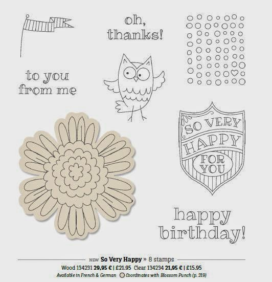 www.jeminicrafts.co.uk So Very Happy Stamp Set - owl