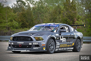 New Mustang RTR race car